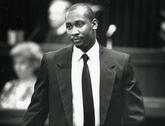 Troy Davis on Aug. 22, 1991, during his trial